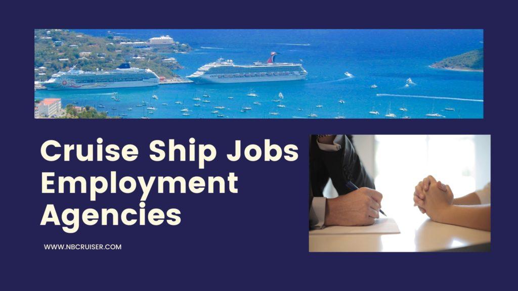 cruise ship jobs employment agency