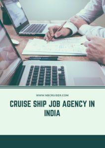 cruise ship job agency inIndia