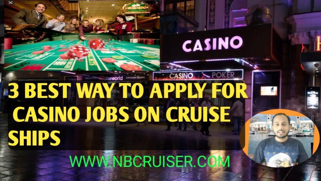 Casino Cruise Employment